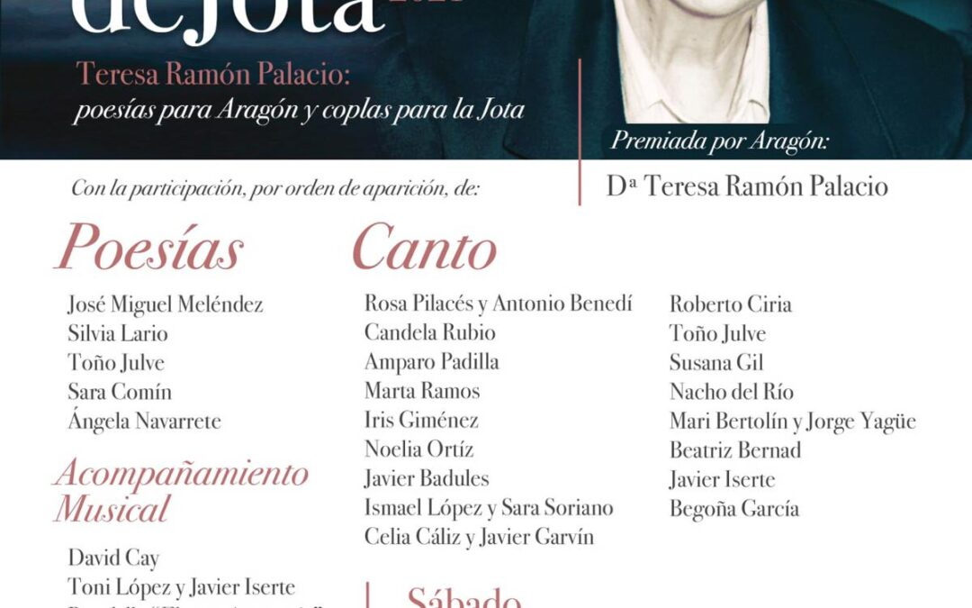 Teresa Ramón, Premio Mujeres de Jota 2021 del Centro Aragonés de Puerto de Sagunto