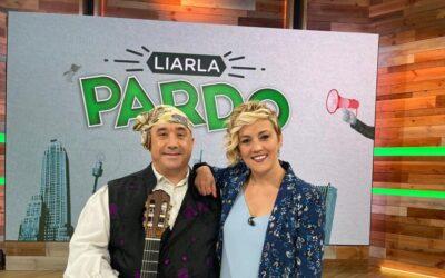 La emoción de Cristina Pardo con la jota de Javier Badules